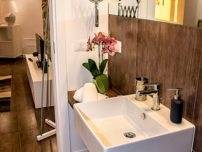 Bathroom With Shower Apartment