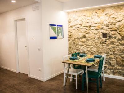 Living area Bivani apartment