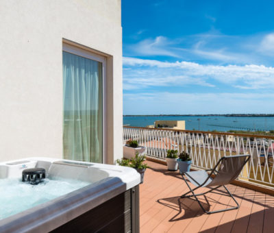 view from the deluxe two-room apartment with jacuzzi