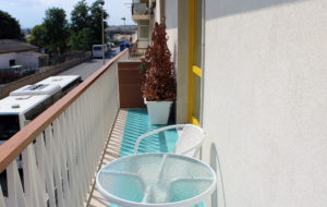 two-room apartment with balcony