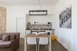 three-room kitchen with balcony